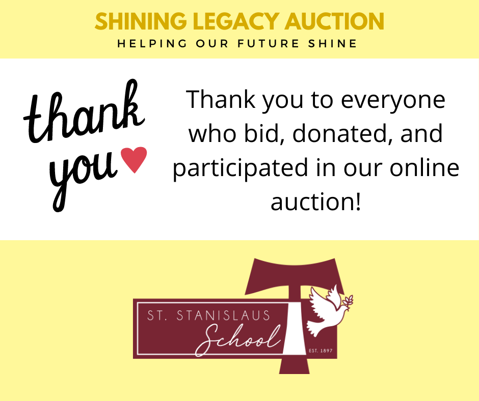 thank you auction