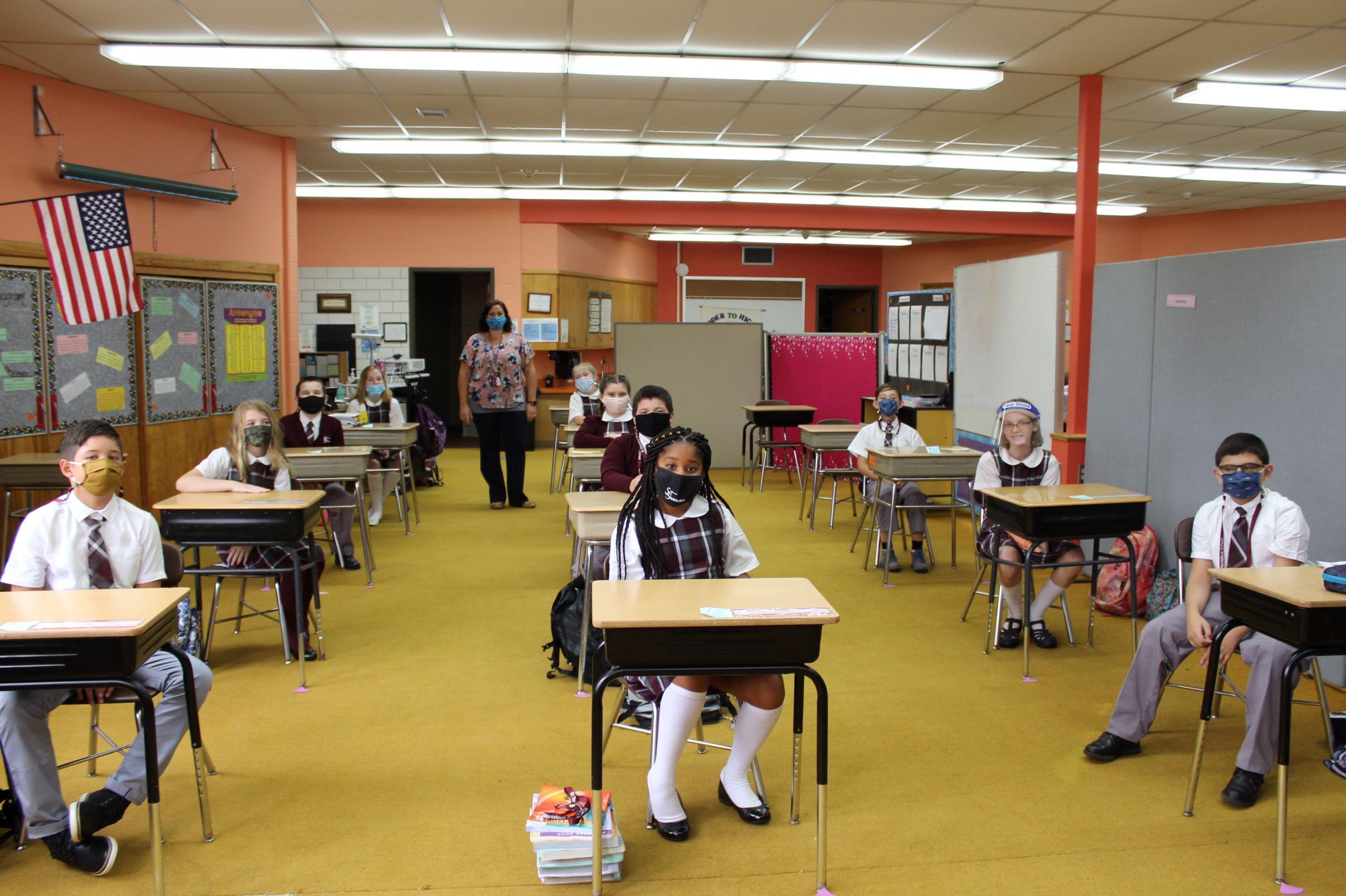 first day grade 6