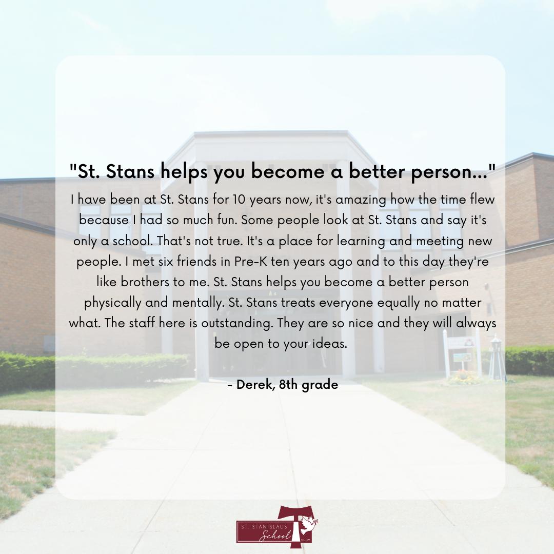 student testimonial review